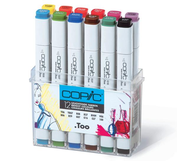 Купить Набор маркеров Copic 12 шт Ландшафт , Copic Too (Izumiya Co Inc), Япония