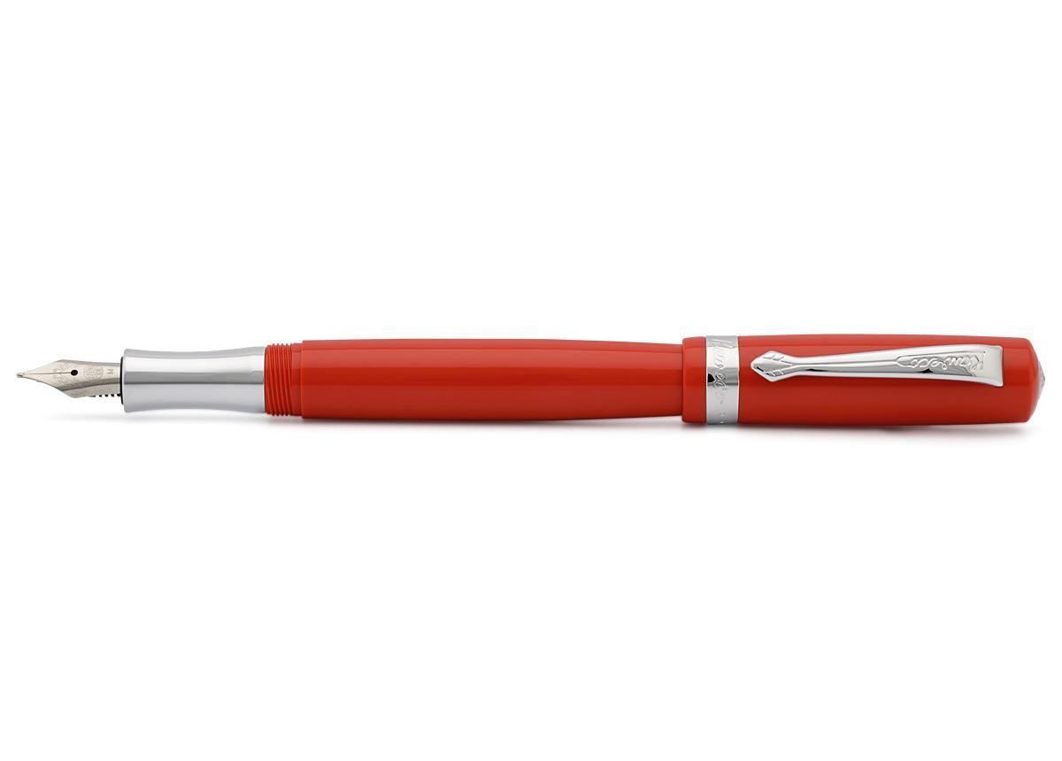 Купить Ручка перьевая Kaweco STUDENT M 0, 9 мм, чернила синие, корпус красный, Германия