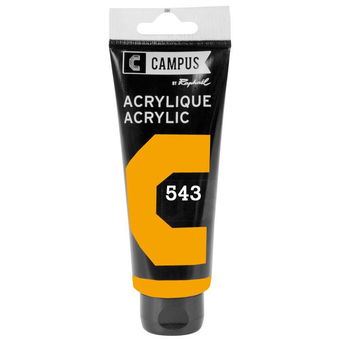 Купить Акрил Sennelier 100 мл Кадмий желтый темный (А), Франция