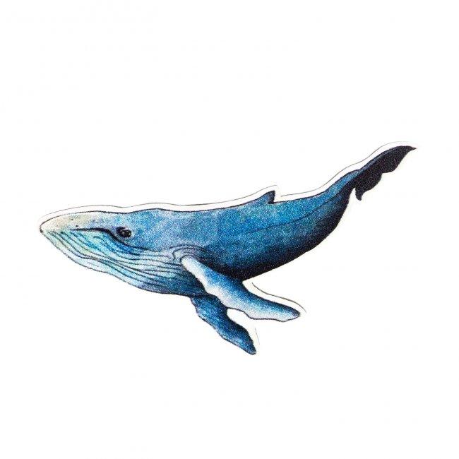 Купить Значок Синий кит , Kawaii Factory, Китай
