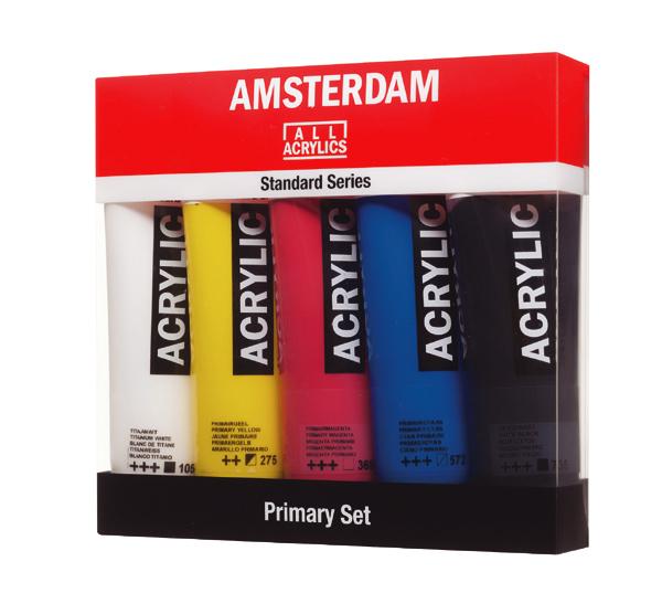 Купить Набор акрила Talens Amsterdam 5 цв начальный, Royal Talens