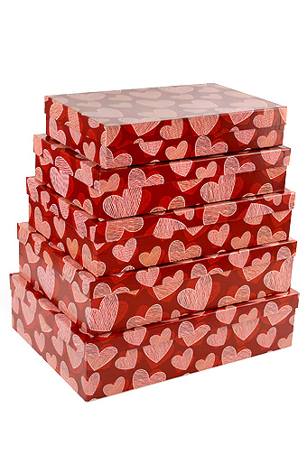 Купить Коробка картонная Струны сердца 28.5х40.5 см, Grand gift, Китай