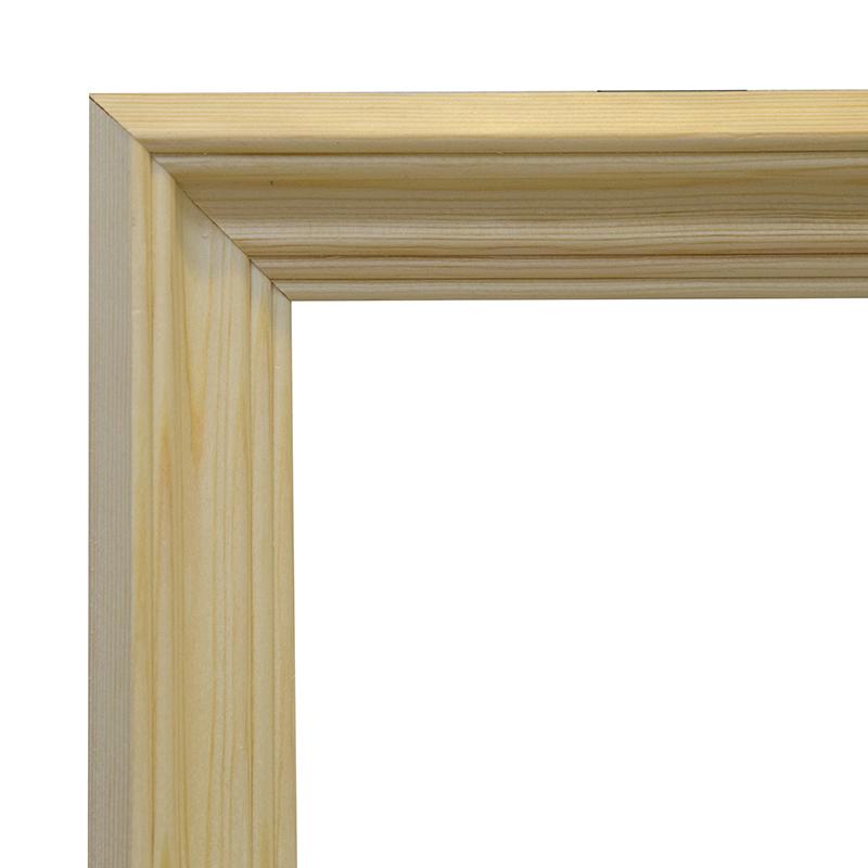 Купить Рама 24х30 см деревянная некрашенная (ширина багета 4, 2 см), Туюкан, Россия