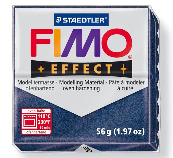 Купить Пластика для запекания Staedtler Fimo Effect 56 г сапфировая, Германия