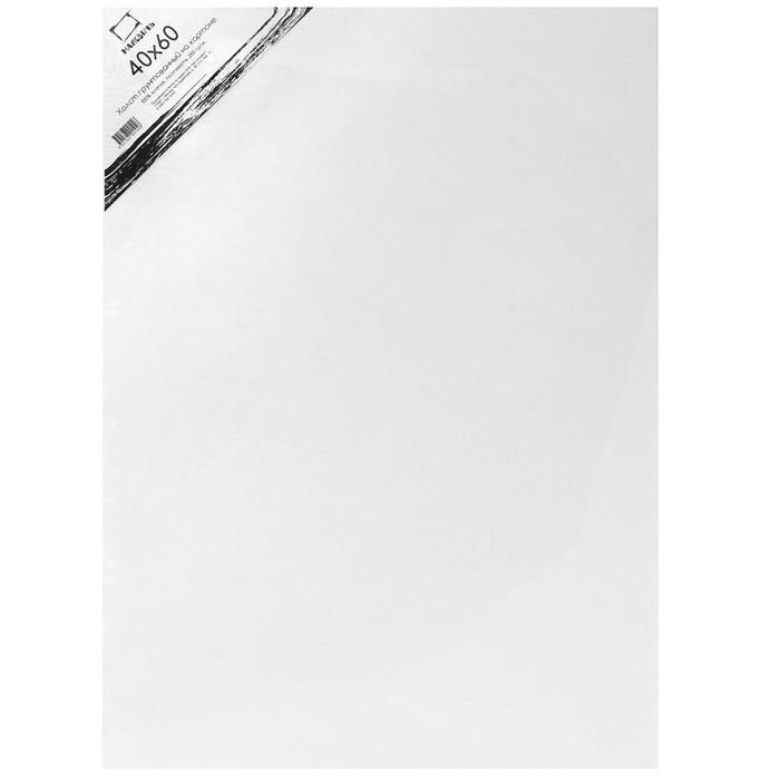 Купить Холст грунтованный на картоне Малевичъ 40x60 см, Россия