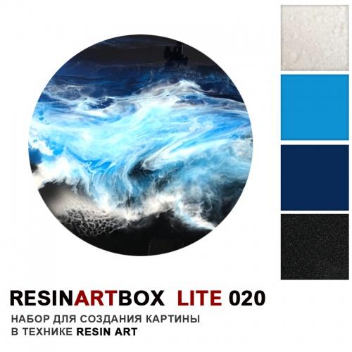Купить Набор для создания картины из эпоксидной смолы ResinArtBox LITE 020 , Франция