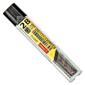 Купить Набор грифелей для механического карандаша Stabilo 12 шт 0, 7 мм, 2В, Германия