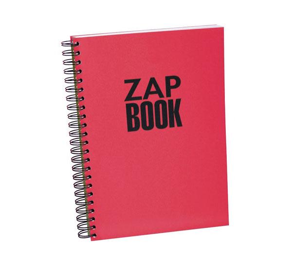 Купить Блокнот для эскизов на спирали Clairefontaine Zap Book А4 160 л, Франция