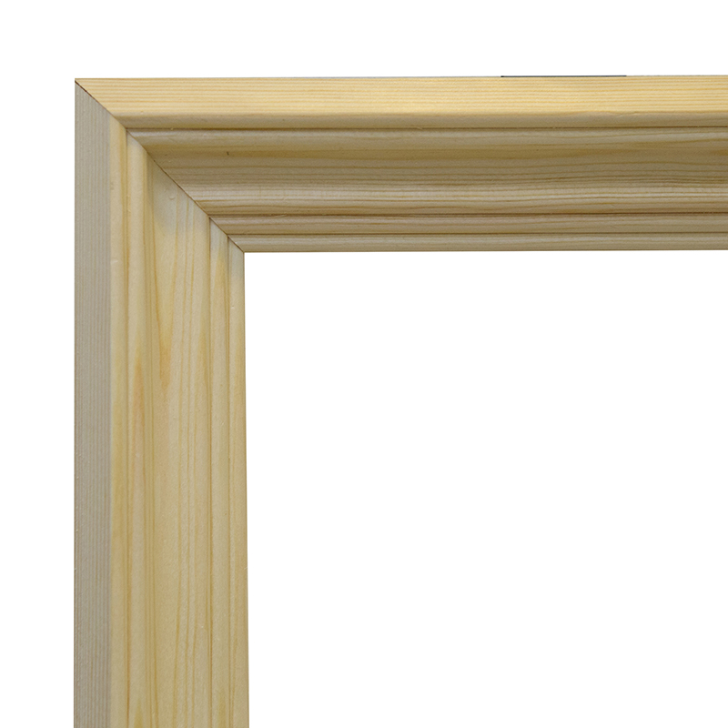 Купить Рама 30х40 см деревянная некрашенная (ширина багета 4, 2 см), Туюкан, Россия