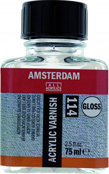 Купить Лак для акрила Talens Amsterdam 75 мл глянцевый, Royal Talens
