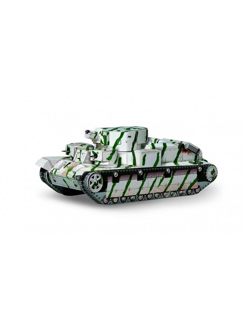 Купить Сборная модель из картона Бронетехника Танк Т-28 , Умная бумага, Россия