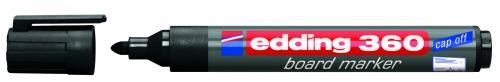 Купить Маркер для доски Edding 360 1, 5-3 мм с круглым наконечником, черный, Германия