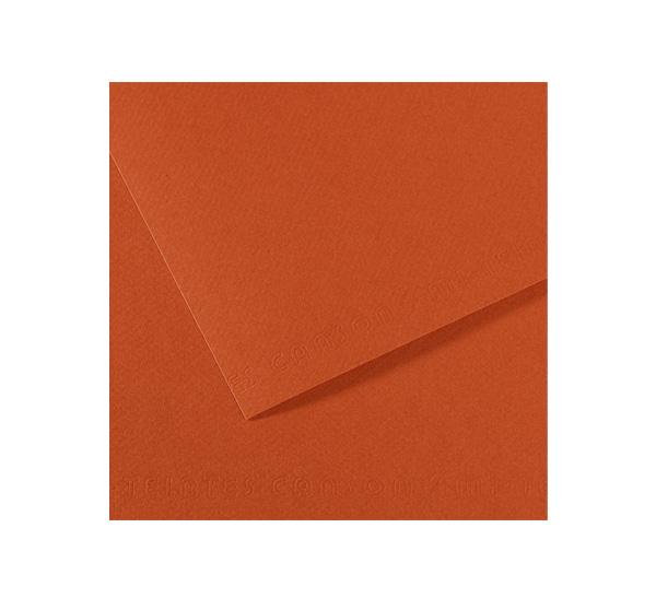 Купить Бумага для пастели Canson MI-TEINTES 75x110 см 160 г №130 красная глина, Франция