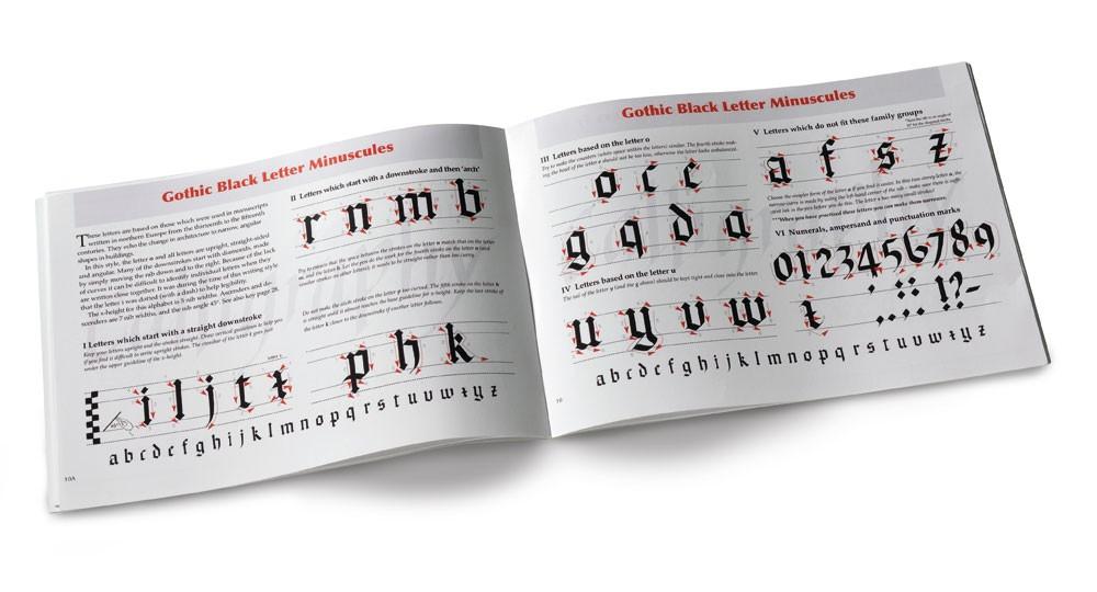 Обучающий буклет по каллиграфии Manuscript фото