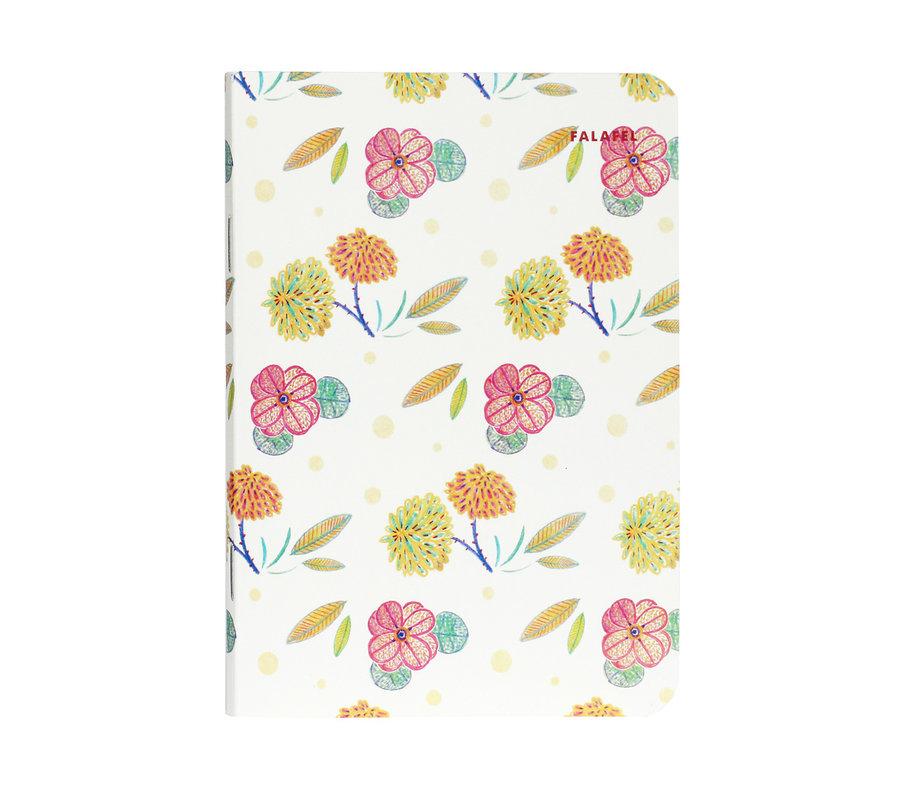 Купить Блокнот FALAFEL BOOKS А6 Flowers, Россия