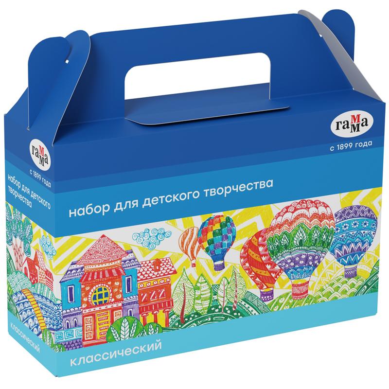 Купить Набор для детского творчества Гамма Классический , в подарочной коробке, Россия