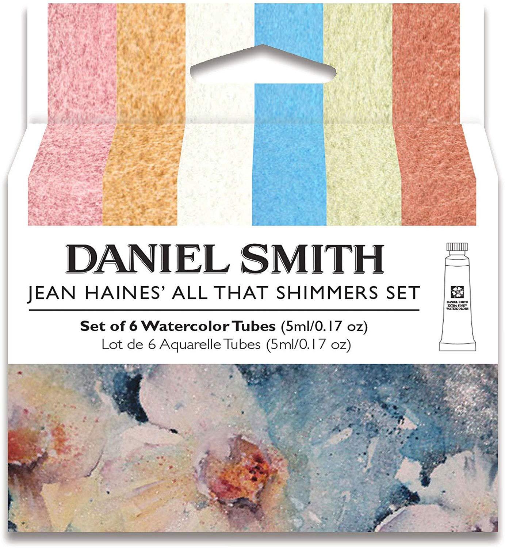 Купить Набор акварели Daniel Smith Jean Haines All That Shimmers Set, в тубах 6 цв*5 мл, США