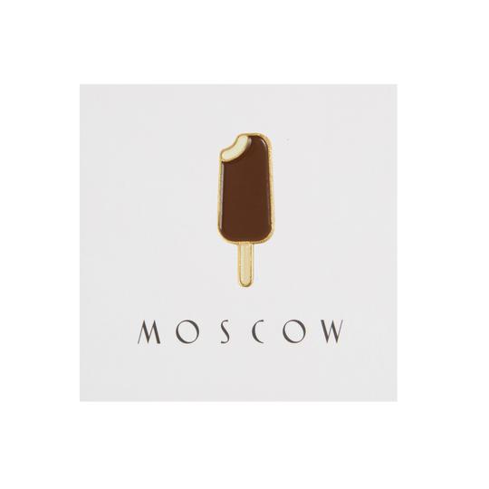 Купить Значок металлический Heart of Moscow Эскимо, Россия