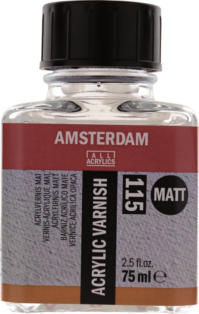 Купить Лак акриловый Talens Amsterdam 75 мл матовый, Royal Talens