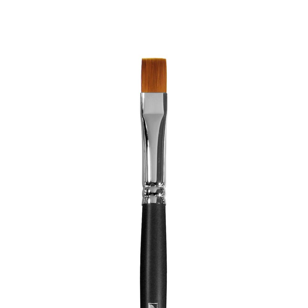 Купить Кисть синтетика №10 плоская Альбатрос Профи длинная ручка, Россия