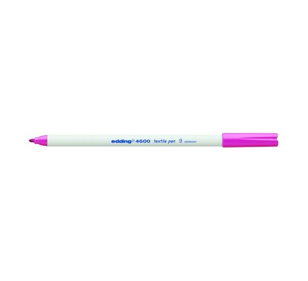 Купить Маркер для текстиля Edding 4600 1 мм розовый, Германия