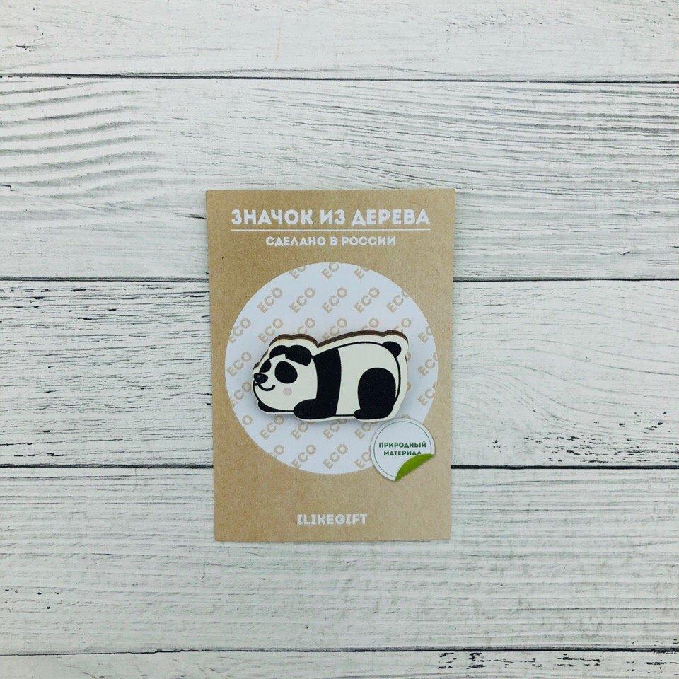 Купить Значок Sleeping Panda , iLikeGift, Китай