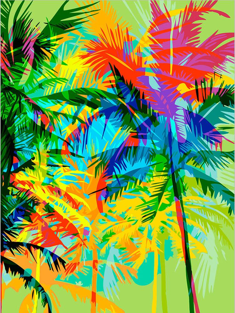 Купить Набор для живописи по номерам ФРЕЯ 40х30 см Майами , Россия