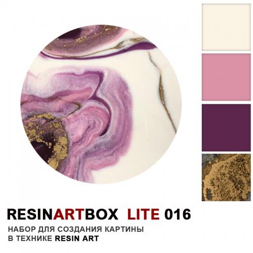 Купить Набор для создания картины из эпоксидной смолы ResinArtBox LITE 016 , Франция