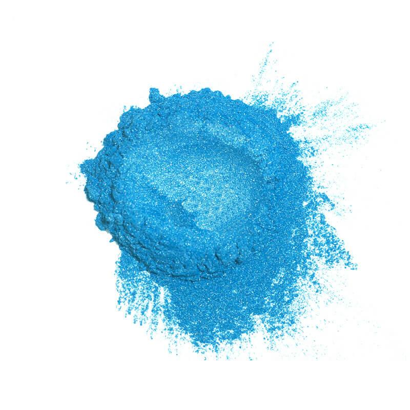 Купить Перламутровый пигмент для смолы ResinArt - голубой 10 мл, Франция