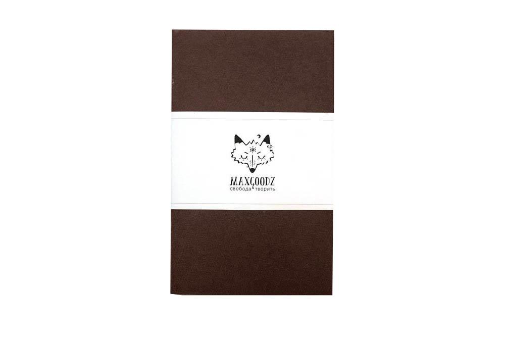 Купить Скетчбук для маркеров Maxgoodz Classic White А5, 32 л, 160 г Коричневый, Россия