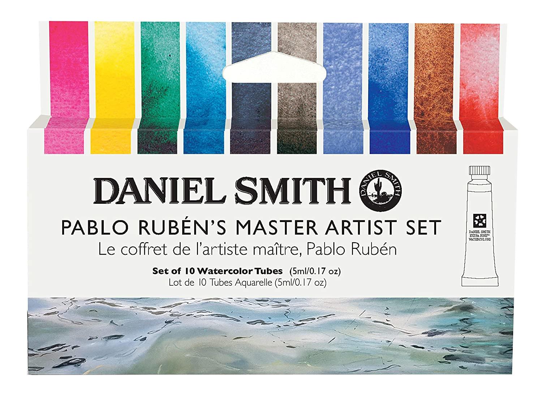 Купить Набор акварели Daniel Smith Pablo Ruben's Master Artist Set, в тубах 10 цв*5 мл, США