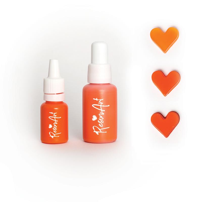 Купить Краситель для эпоксидной смолы ResinArt 10 мл оранжевый, Франция