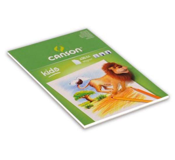 Купить Альбом-склейка для рисования Canson Детское творчество А4 30 л 90 г, Франция