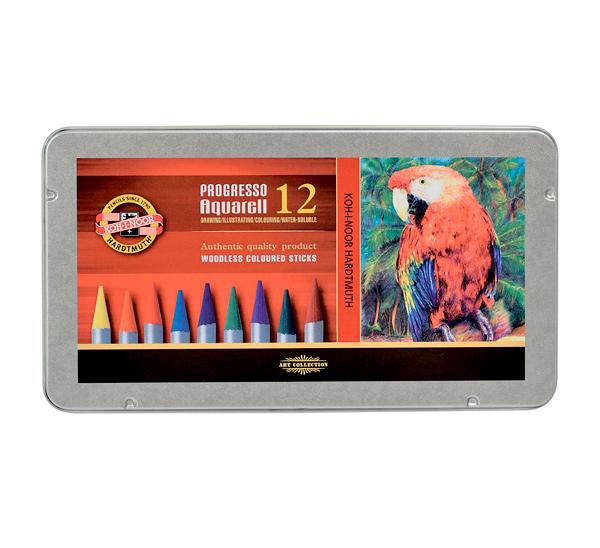 Купить Набор акварельного монолита Koh-I-Noor Progresso 12 цв, KOH–I–NOOR, Чехия