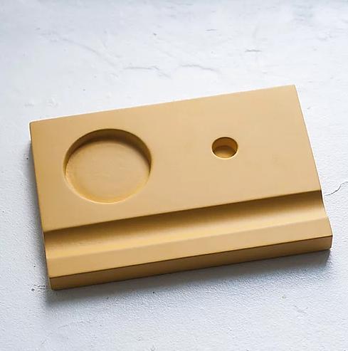 Купить Подставка для чернильницы-непроливайки, цвет желтый, HILLANDMILL, Россия