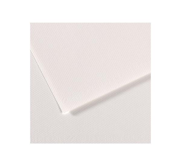 Купить Бумага для пастели Canson MI-TEINTES 75x110 см 160 г №335 белый, Франция