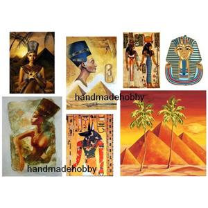 Купить Набор карт 5 шт. 21х30 см Египет для декупажа, Невская Палитра, Россия