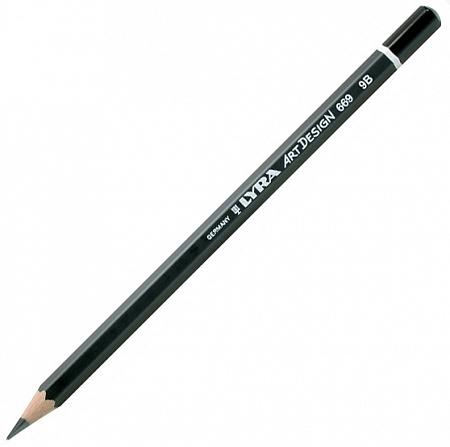 Купить Карандаш чернографитный Lyra ART DESIGN 9B, Германия