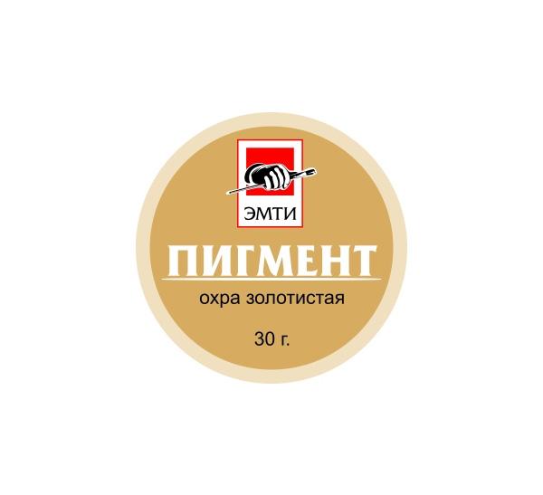 Купить Пигмент Эмти Охра золотистая 30 г, Россия