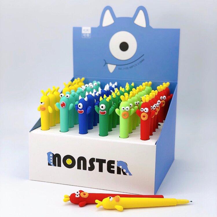Купить Ручка Monster cactus , mix, iLikeGift, Китай