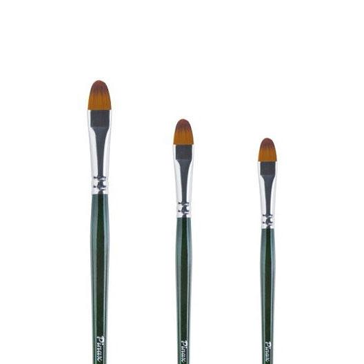 Купить Кисть синтетика овальная Pinax Creative 347 длинная ручка, Китай