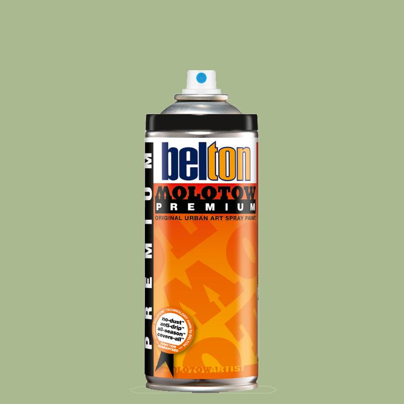 Купить Аэрозольная краска Molotow Premium belton 400 мл #131 gale green, Германия