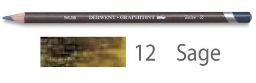 Купить Карандаш акваграфитный Derwent Graphitint Шалфей