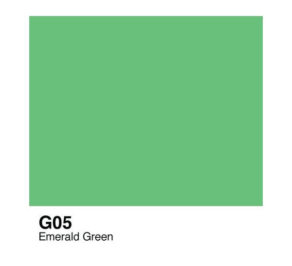 Купить Чернила COPIC G05 (изумрудно-зеленый, emerald green), Copic Too (Izumiya Co Inc), Япония