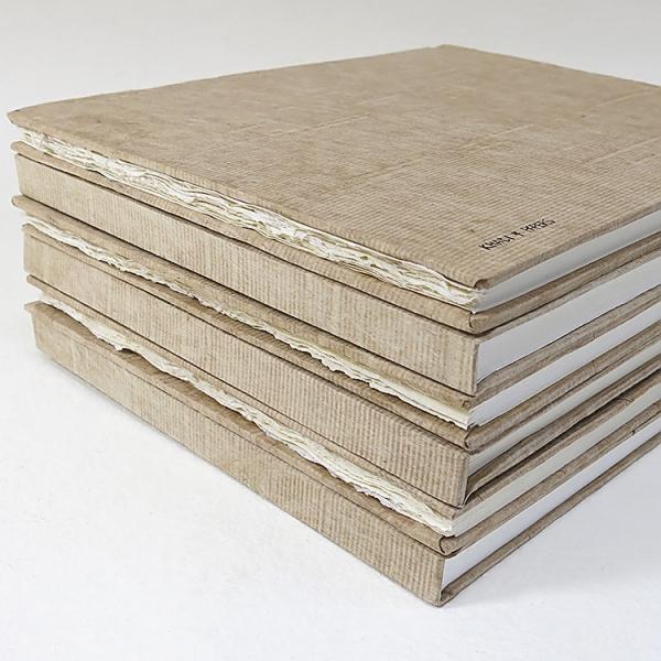 Альбом для акварели KHADI PAPERS 30х35 см 40 л 210 г 100% хлопок, мелкозернистая, твердая обложки фото