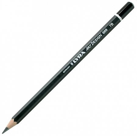 Купить Карандаш чернографитный Lyra ART DESIGN 7B, Германия