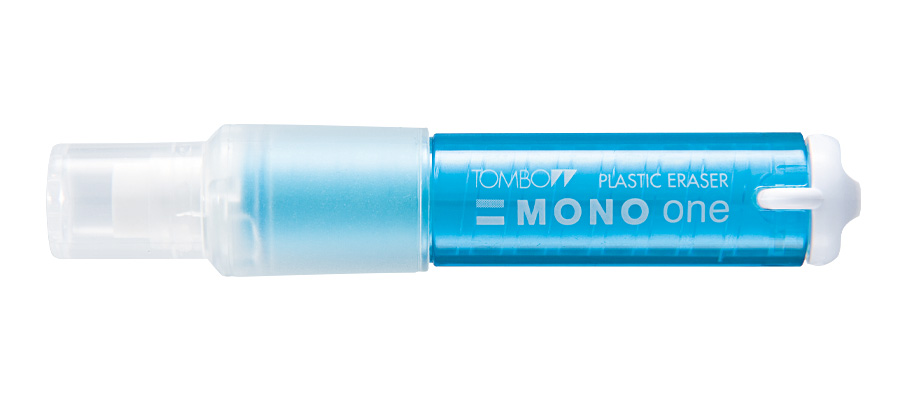 Купить Ластик-карандаш Tombow Mono one корпус прозрачный, синий, Япония