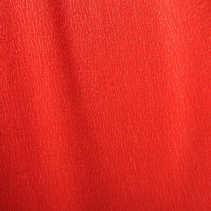 Бумага крепированная Canson рулон 50х250 см 32 г №06 Ярко-красный, Франция  - купить со скидкой