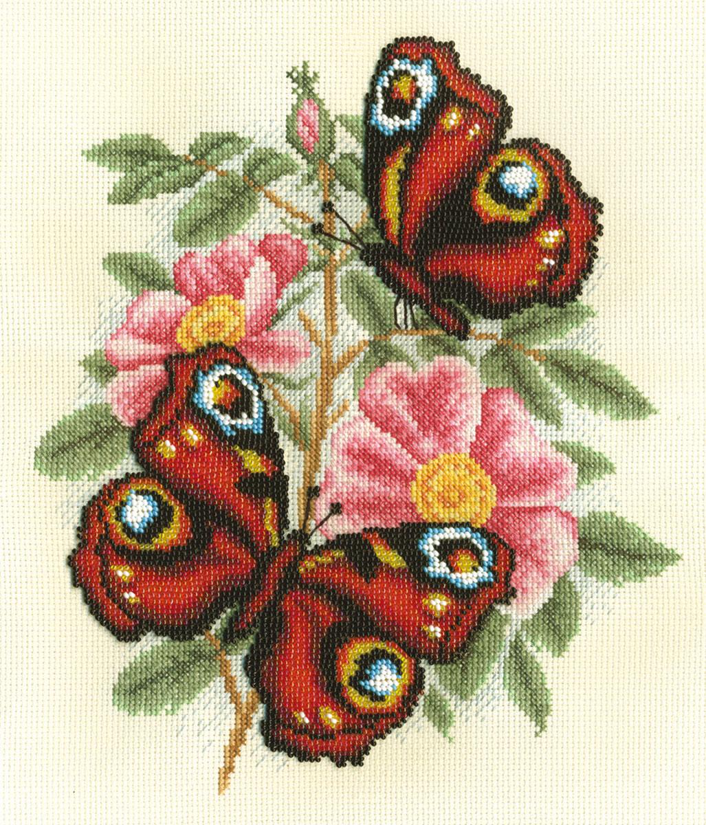 Купить Набор для вышивания PANNA Душистый шиповник , Gamma, Россия