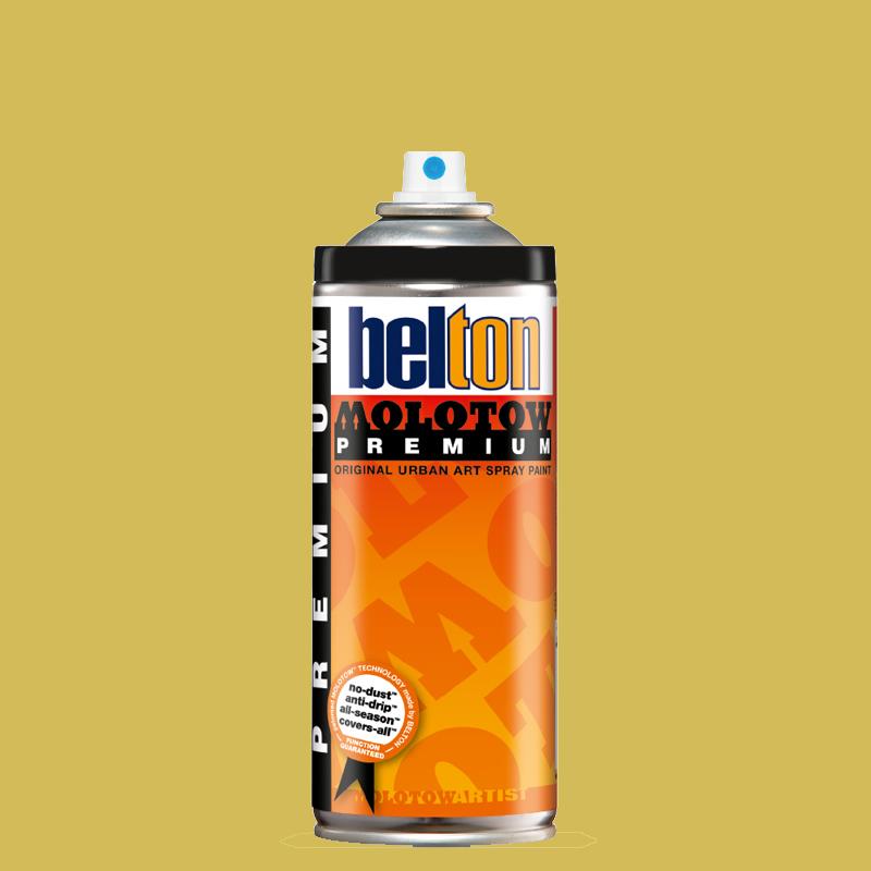 Купить Аэрозольная краска Molotow Premium belton 400 мл #182 mustard, Германия